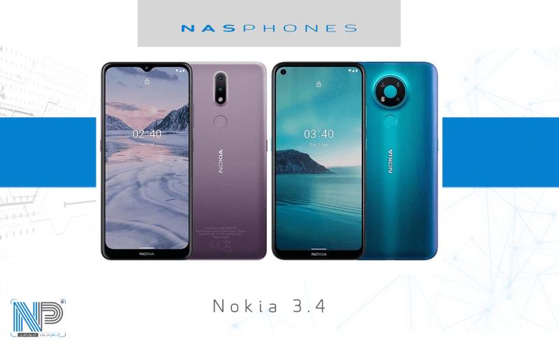 مراجعة موبايل Nokia 3.4