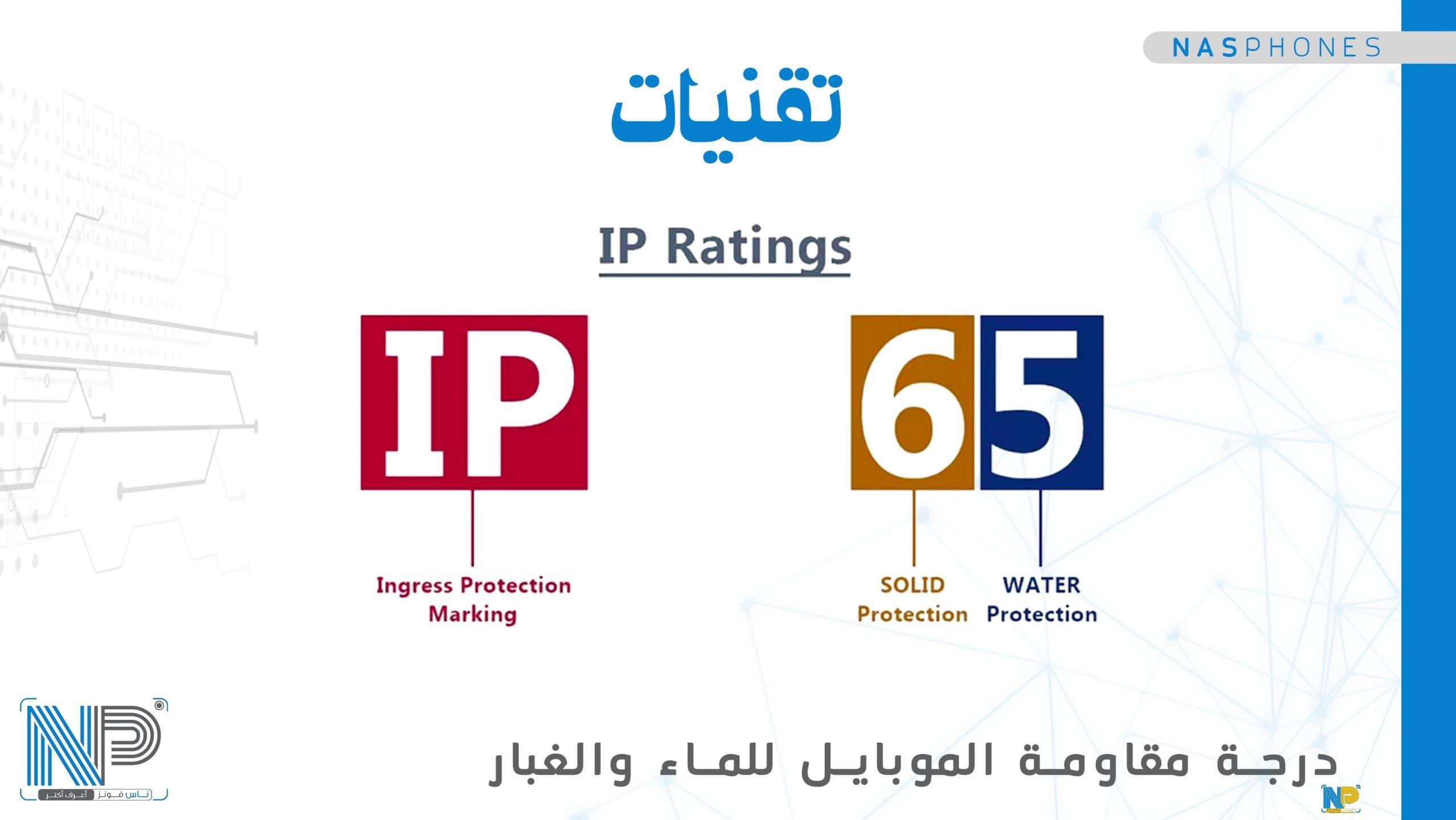 وضع اللجنة الدولية (IEC) لحروف IP